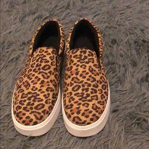 Boohoo Leopard Sneaker/Loafer